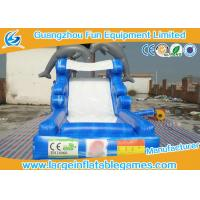 Wholesale Dolphin commercial  Inflatable Water Slide For Kids or  Adults , Giant Inflatable Water Pool Slide with CE from china suppliers