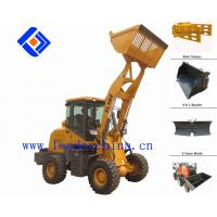 Wholesale mini front wheel loader with bucket capacity:0.85 m3 from china suppliers