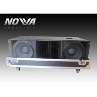 Wholesale Double 12 Inch Jbl Line Array Speakers , Three Way Stage Sound Equipment from china suppliers