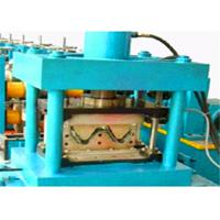 Wholesale Highway Guardrail Roll Forming Machine , Sheet Metal Roll Forming from china suppliers