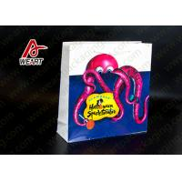 Wholesale Food Carrier Retro Retail Paper Bags , Custom Printed Paper Lunch Bags from china suppliers