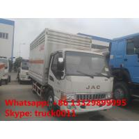 Wholesale China CLW factory sale 4*2 JAC 5ton gas cylinders delivery truck, CLW brand JAC LHD 4*2 gas cylinders carrier vehicle from china suppliers