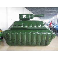 Wholesale 0.6mm / 0.9mm PVC Tarpaulin Fabric Inflatable Paintball Bunker from china suppliers