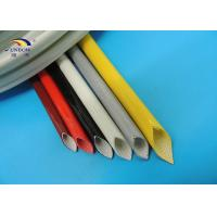 Wholesale 7KV Insulation Fiberglass Sleeve with Silicone Coating 2.0mm ID 200ºC High Temperature from china suppliers