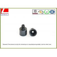 Wholesale Custom aluminum CNC turning roller black anodizing and sandblasting from china suppliers