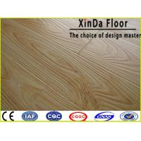 Buy cheap size ac3/4/5 hdf water resistant waxed click wood floor laminate flooring from wholesalers