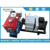 Wholesale Double Drum Hoist Winch 5 Ton with Diesel Engine for tower erection from china suppliers