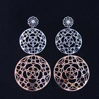 Wholesale Fashion High Quality Ladies Women Girls Stainless Steel Earrings LEF148-2 from china suppliers