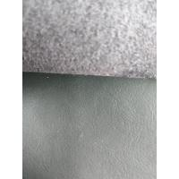 Wholesale 54 Inch Stretch Pleather Fabric , Car Seats Bonded Leather Upholstery Fabric from china suppliers