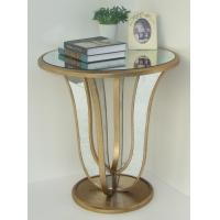 Wholesale Vintage golden mirror table from china suppliers