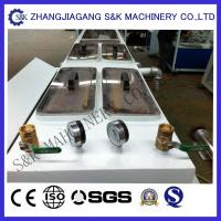 Buy cheap 2-12 claws PP extrusion machine for agricultural drainage system , Tube Extruder Machine from wholesalers