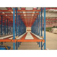 Wholesale perishable goods gravity flow racks , double - deep pallet racking systems from china suppliers