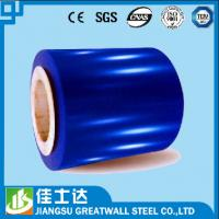 Wholesale Blue Printed Gi Ppgi Color Steel Coil JISG3302 ASTMA525 0.3mm-1.2mm Thickness from china suppliers