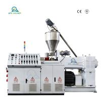 China HSJZ-80/156 Conical Twin Screw Extruder| Plastic Extruder Machine| Big Promotion! for sale