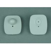 Wholesale Mini Square Plastic Rf Eas Hard Tag For Hats / Footwear , Fire Retardant from china suppliers