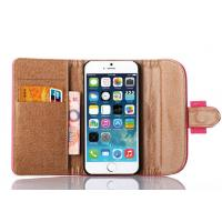 Wholesale 3 Fold Elegant Flip Stand Leather Case Iphone 6 Case Genuine Leather from china suppliers