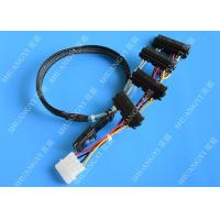 Wholesale SFF 8087 To SFF 8482 Dual Port SAS Power Cable SAS TO SAS Length 0.65m from china suppliers