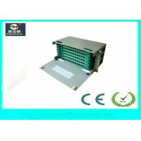 Wholesale 72 Cores Rack Mount / Wall Mount ODF Optical Distribution Frame FC SC LC For FTTH from china suppliers