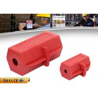 Wholesale Durable Plug Lock Out Rugged Polypropylene 6.5 * 6.5 * 11.8 Cm Size from china suppliers