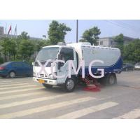 Wholesale Suction And Automatic Road Sweeper Truck For Water Spray , Sweep Road from china suppliers