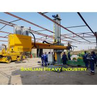 Quality 4X4 Heavy Duty Welding Manipulators For Tank Welding With Cross Slide Column And Boom for sale