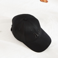 Wholesale Blank Pattern Cotton Twill Embroidered Baseball Caps Black Color from china suppliers