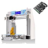 Wholesale JGAURORA A-3 Rapid mpressora 3D Printer DIY Sets 200*200*180mm (7.5*7.5*7.1in) Reprap Prusa i4 Plus from china suppliers