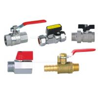 "Wholesale Pneumatic Accessories BV Brass Ball Valve 25bar With Both 1/4"" Female Thread from china suppliers"