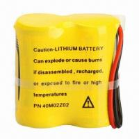 Quality 1,600mAh 3V Lithium Cylindrical Battery with 3,000mA Pulse Current for sale