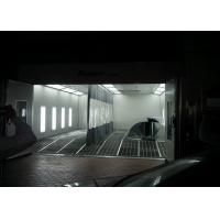 Wholesale Car Spray Booth Inner Ramp Full Downdraft With LED Riello Burner Heating from china suppliers
