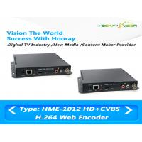Wholesale HDMI CVBS Input Digital TV Encoder Support HTTP , UTP , RTSP , RTMP Protocol from china suppliers