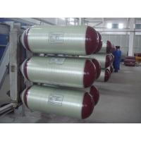 Type 2 Glass Fiber CNG Gas Cylinder with 150L - 200L Nominal Water Capacity