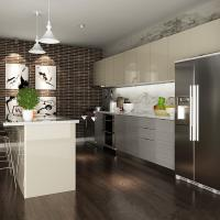 Wholesale Blum Hinges Laminate Kitchen Cabinets With Stove And Oven Interior Home Design from china suppliers