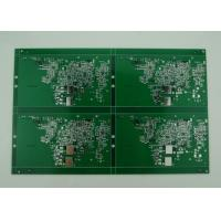 Wholesale 2oz Copper Double Sided PCB with Green Solder Mask , High precision prototype from china suppliers
