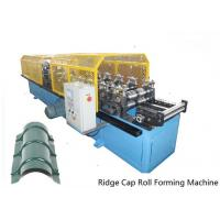 Wholesale 14 Stations Ridge Cap Roll Forming Machine For Cinema / Theatre / Garden from china suppliers
