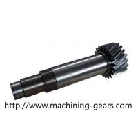 Wholesale CNC Machining Transmission Hard Parts Helical Gear Shaft Stainless Steel Material from china suppliers