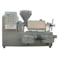 Wholesale Peanut / Soybean / Sesame Automatic Screw Oil Press Machine With Electric Motor from china suppliers