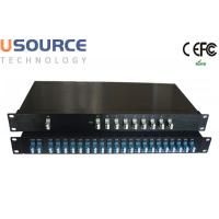 Wholesale LC Connector 100G 200G DWDM Mux Demux with Monitor and Upgrade Port from china suppliers