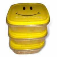 Wholesale Food Storage Container Set in Various Sizes with Rectangular Shape from china suppliers