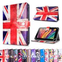 Wholesale Personalized Universal Printed PU Leather Skin Stand 7 in Tablet Case / Wallet Cover from china suppliers