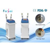 Wholesale best RF treatment wrinkle removal 5Mhz Thermage RF microneedle Machine FMN-II fractional needling therapy from china suppliers