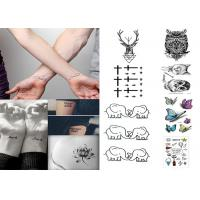 Wholesale Custom long lasting removable waterproof  temporary tattoo sticker for body from china suppliers