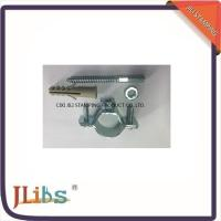 Wholesale Welding Galvanised Steel / Cast Iron Pipe Clamps With Nut Screw from china suppliers