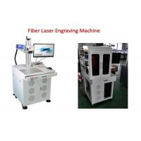 Quality Electronic Bar Code Fiber Laser Engraving Machine with 0 - 0.5mm Marking Depth for sale