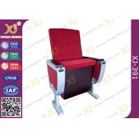 Wholesale Aluminum Alloy Leg Cinema Theater Auditorium Chairs With Full Size Dual Folding Dining Table from china suppliers