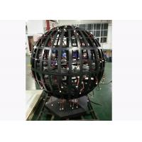 Wholesale SMD P4.8 Indoor Full Color spherical Led display Screen Diameter 1.2m from china suppliers