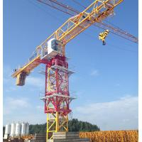 Wholesale construction site Topless Tower Crane with 10 Ton capacity and 60m Jib length from china suppliers