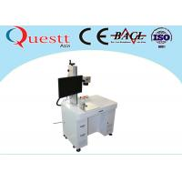 Wholesale High Speed Fiber Laser Marking Machine F-Theta Lens Benchtop With Rotate Device from china suppliers