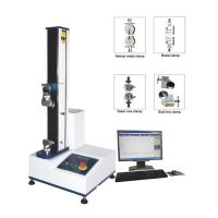 Buy cheap PC Servo Motor Universal Tensile Testing Machine 220V 5KN 500 KG 1PH from wholesalers
