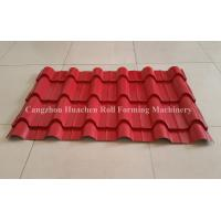 Quality 1250 Width Panel Glazed Tile Roll Forming Machine For Steel Construction for sale